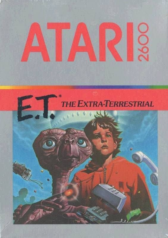 the E.T video game