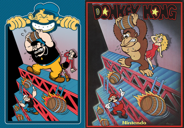 How Popeye Led To The Creation Of Super Mario Bros -